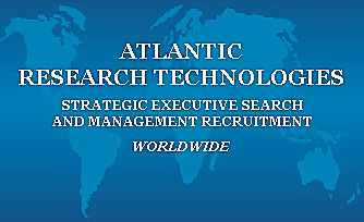 ATLANTIC RESEARCH TECHNOLOGIES - Executive Search, Recruiters, Recruitment Firm, Headhunters, Executive Headhunters, Executive Recruiters, Management Recruiters, Careers, Employment, Placement, Human Resources